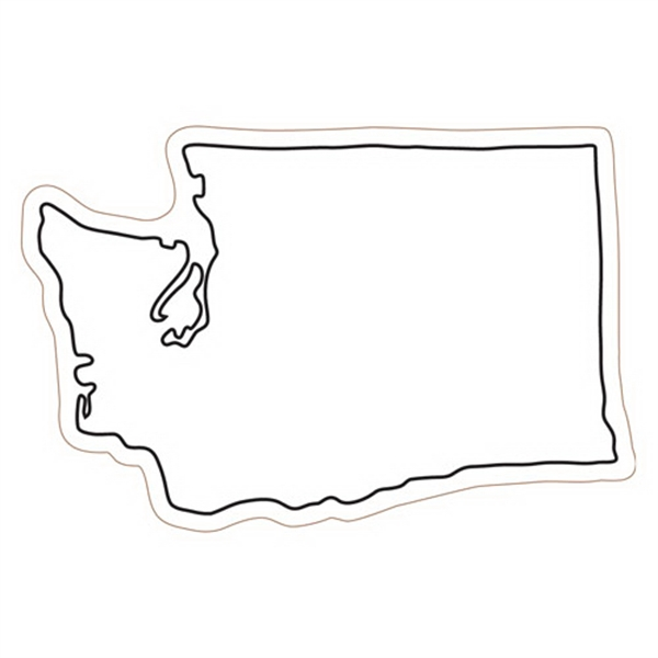 Washington State Stock Magnet - State Stock Magnet.