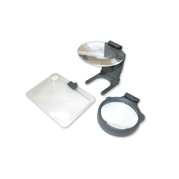 Hobby 3-in-1 LED Lighted Magnifer set