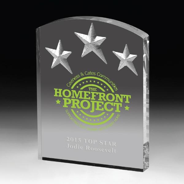 Freestanding Acrylic Award-5
