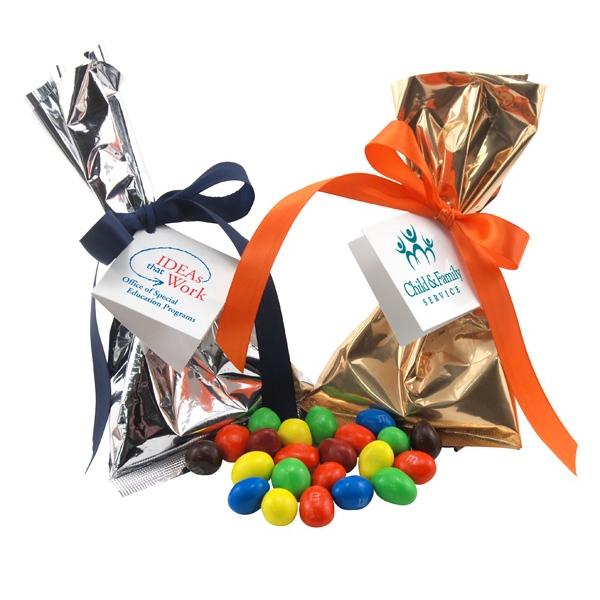 Peanut chocolates Favor/Mug Stuffer Bags with Ribbon