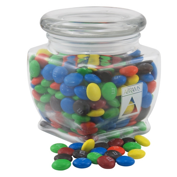 Chocolates in a Large Glass Jar with Lid