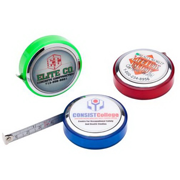 6 Metal 2 Sided Dome Tape Measure
