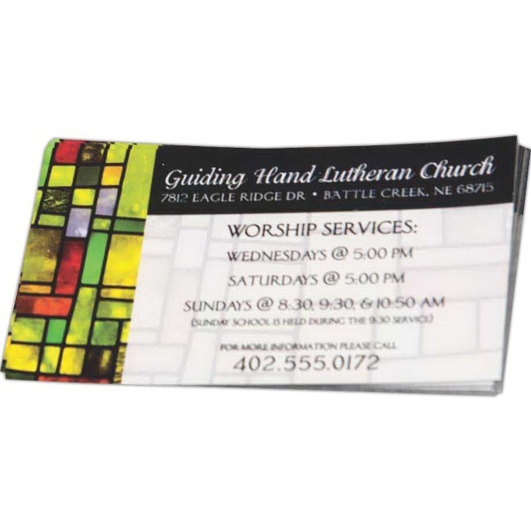 Magnetic Full Color Business Cards