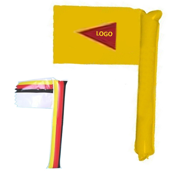 Inflatable Thunder Stick Flag