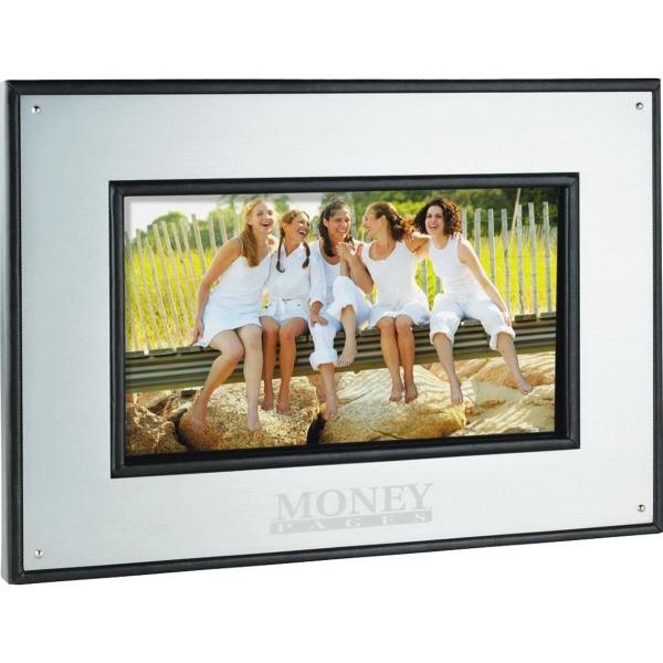 "7"" Aluminum Digital Photo Frame - 1GB"