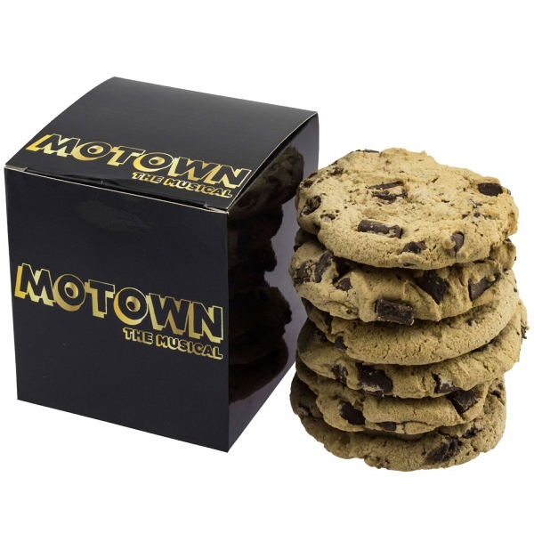Cube Box - Large Gourmet Chocolate Chip Cookies