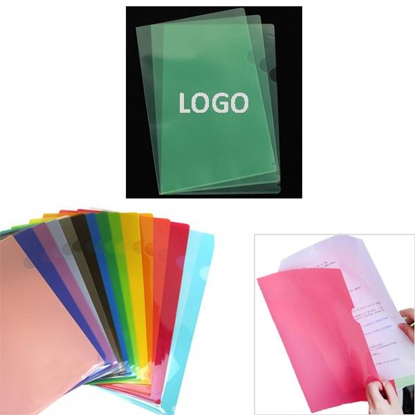 L Shape Folder