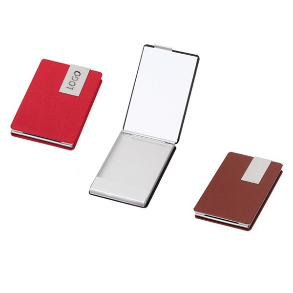 Leather Cover Card Holder