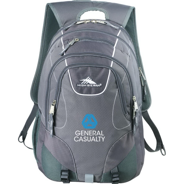 "High Sierra Vortex Fly-By 17"" Computer Backpack"