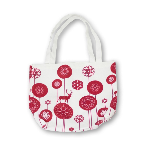 "Cotton Bag 15""W x 12.5""H x 5""D"
