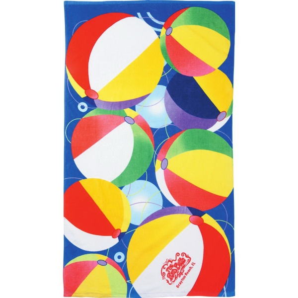 14 lb./doz.Beach Ball Beach Towel