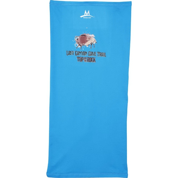 Mission EnduraCool Multi-Cool Towel - One size fits al cooling towel that has 12 different ways to wear