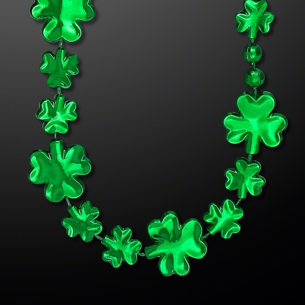 Shamrock Beads for St. Patty's Day