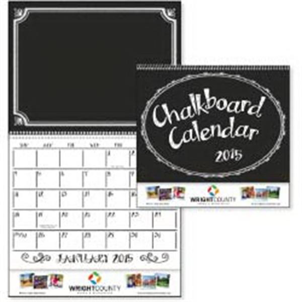 2015 Chalkboard Calendar