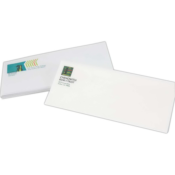 Large Run Full Color Stationery Envelopes