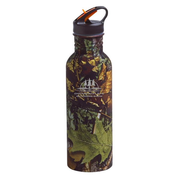 Camo Stainless Water Bottle