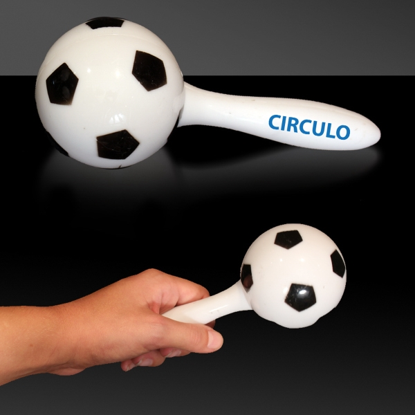 "Soccer Ball 7"" Sport Maraca"