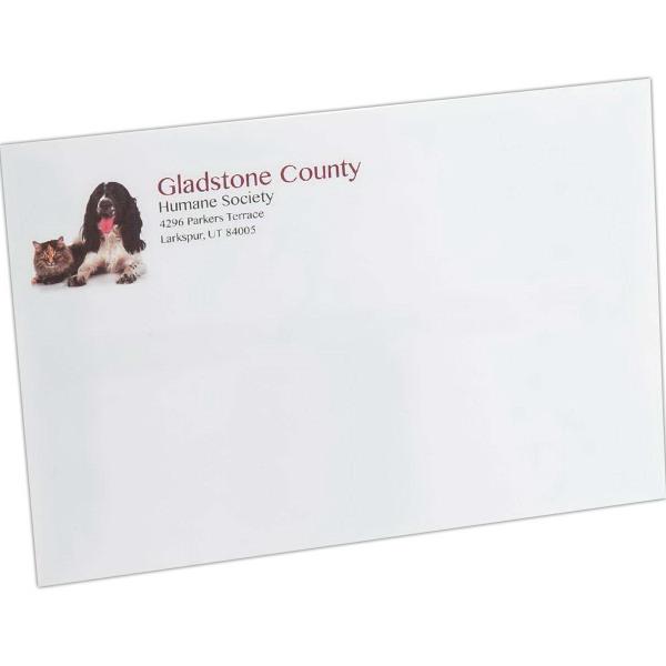 Mailing envelopes - standard gum flap