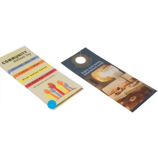 Short Run Full Color Rack Card