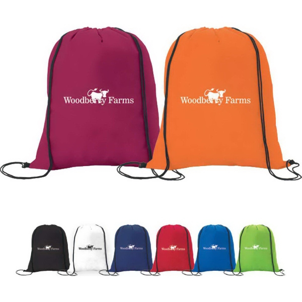 Non-Woven Drawstring Backpack 1