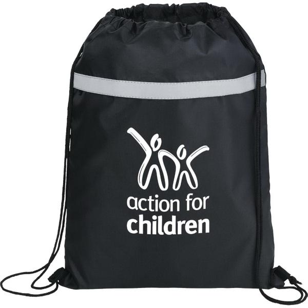 The Reflecta Drawstring Cinch Backpack