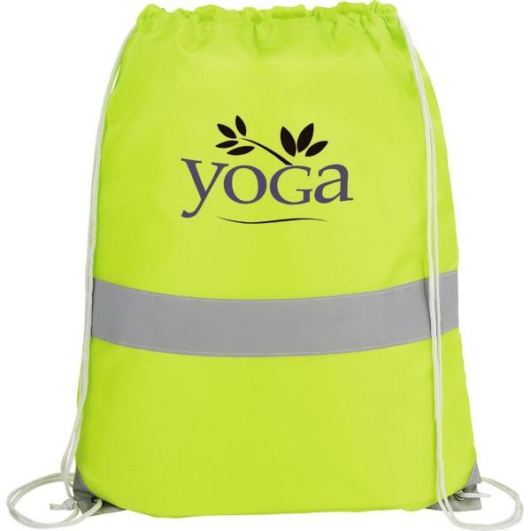 The High Viz Drawstring Cinch Backpack
