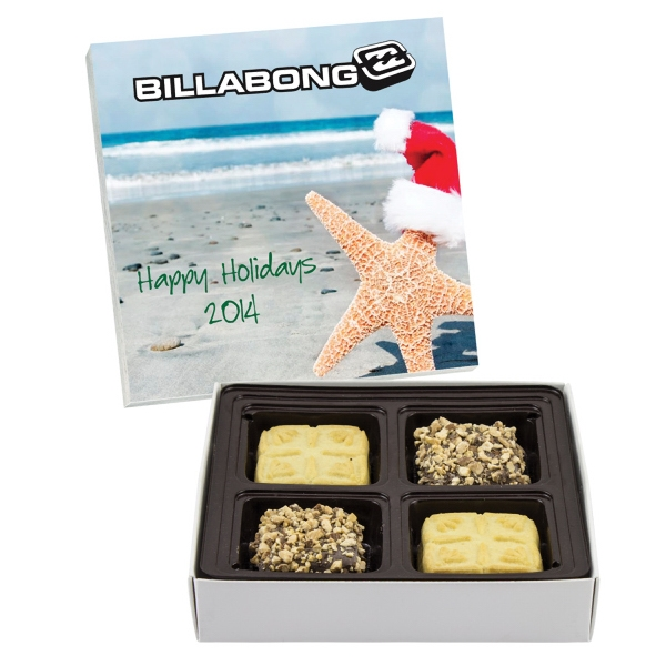 Custom Candy Box with Shortbread Cookies & Buttercrunch