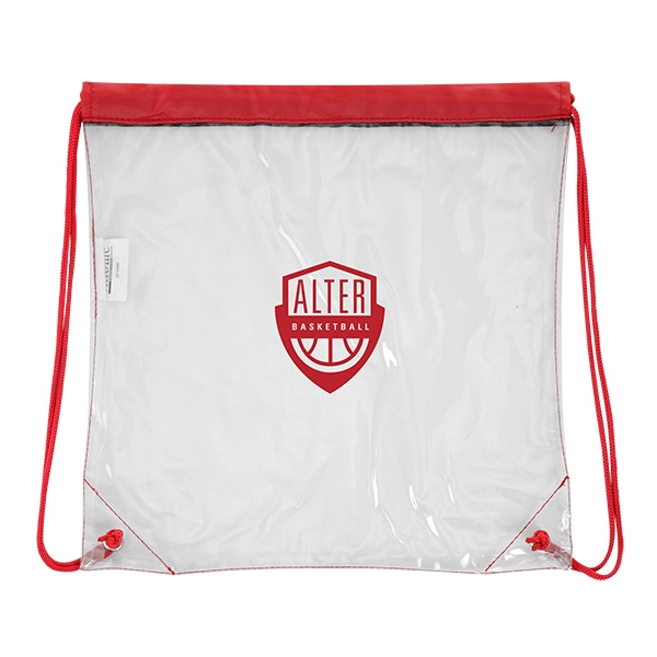 Field Sport Pack - Field Sport Pack. Clear with colored drawstring.