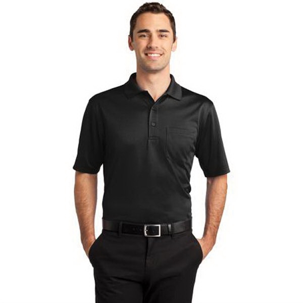 CornerStone Select Snag-Proof Pocket Polo. - CornerStone Select Snag-Proof Pocket Polo.