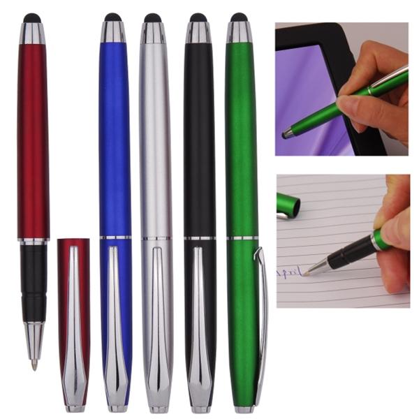 Stylus Cap-Off Ballpoint Pen