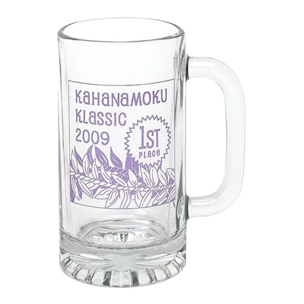 16 oz. Tankard Glass Beer Mug (Made in USA)