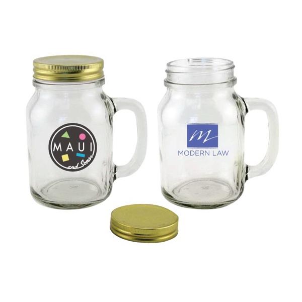 20 oz. Fabrique Glass Mason Jar