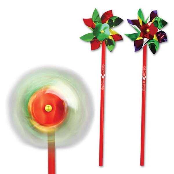 """4"""" Multicolor Pinwheel"""