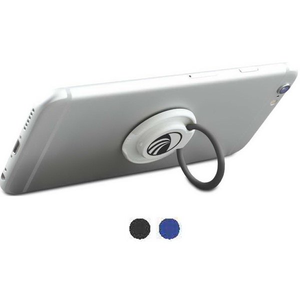 Smart Grip Stand - The Smart Grip Stand is a round, portable stand with flip grip ring.