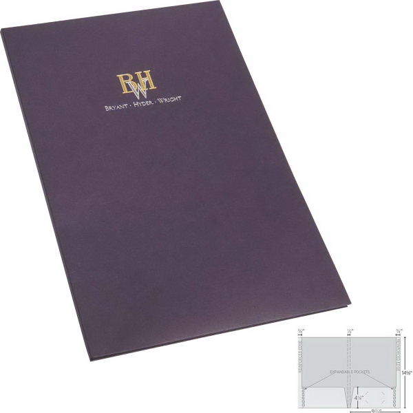 Oversized and Expandable Legal Size Folders