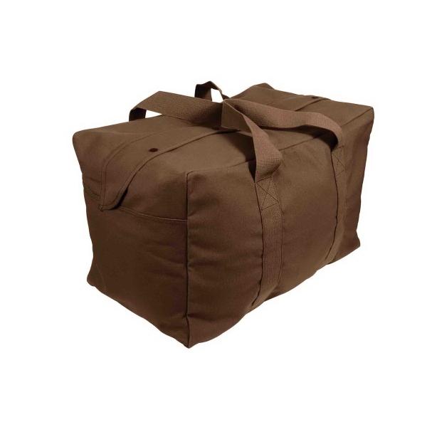 Brown Parachute Cargo Bag