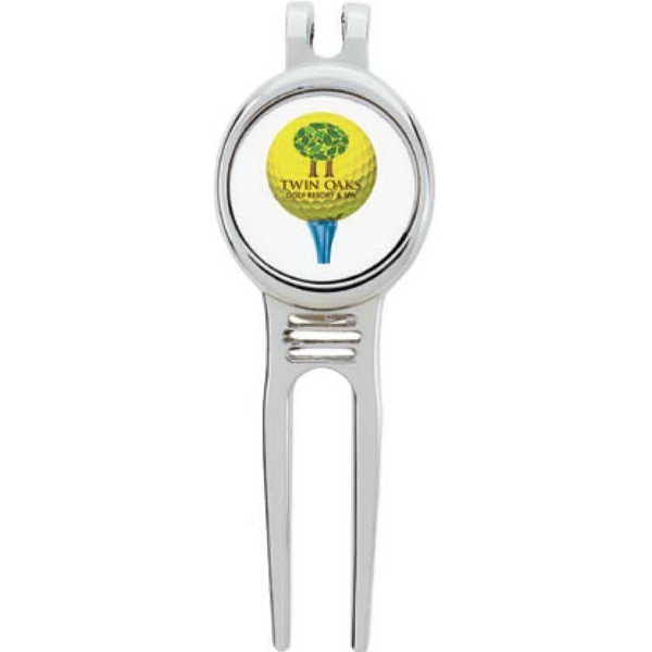 Golfer's Divot Tool with Ball Marker - Good Value (R)