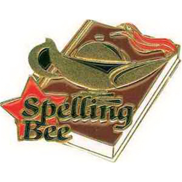 "1 1/4"" SPELLING BEE Lapel Pin"