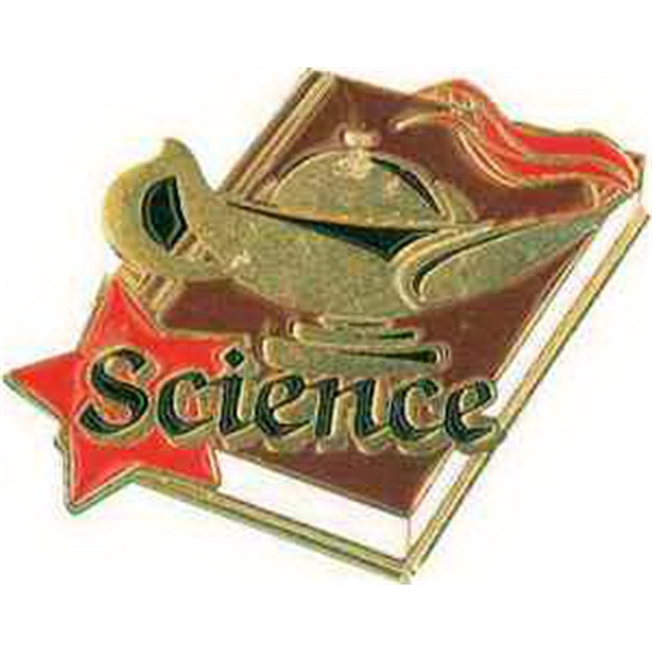 "1 1/4"" SCIENCE Lapel Pin"