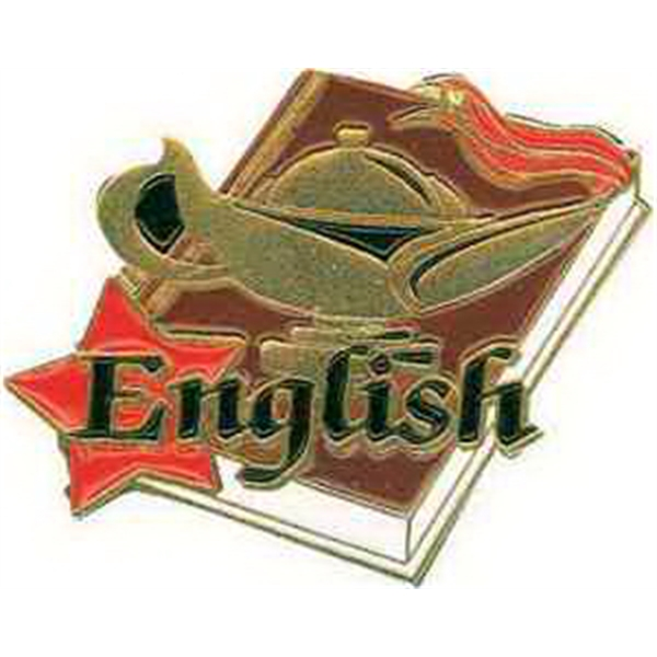 "1 1/4"" ENGLISH Lapel Pin"