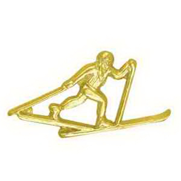 Chenille Pin CROSS COUNTRY SKIING -