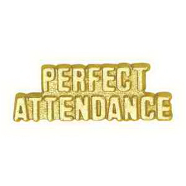 Chenille Pin PERFECT ATTENDANCE
