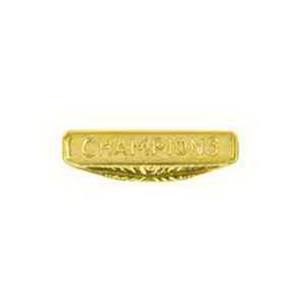 Chenille Pin CHAMPIONS