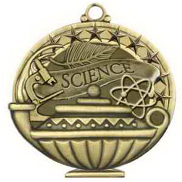 "2"" Academic Performance Medal SCIENCE in Gold"