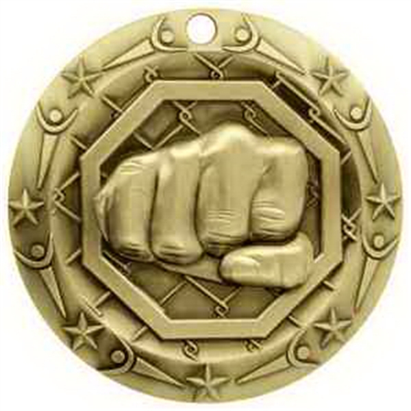 3'' World Class MMA Medallion (G)