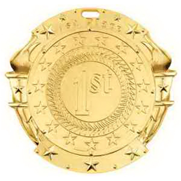 2 3/4'' Sport Insert Medallion 1 ST PLACE (G)