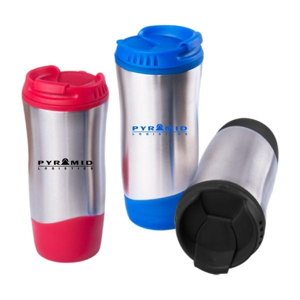 16oz Wave Hourglass Travel Mug