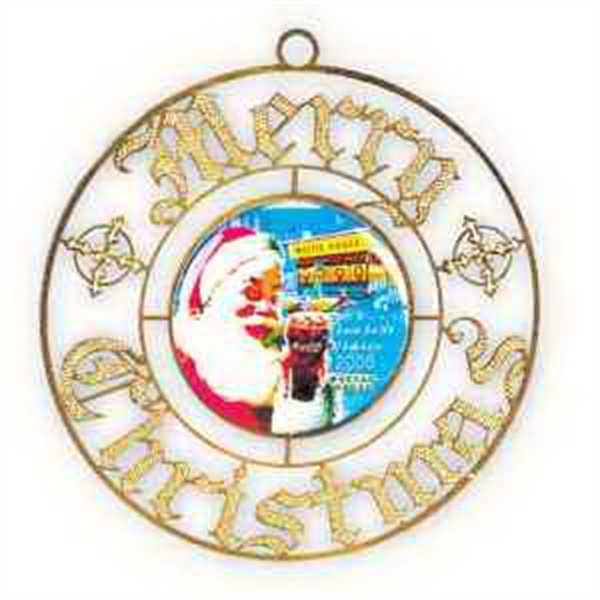 Holiday Ornament Vibraprint - Merry Christmas