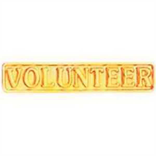Service Lapel Pin VOLUNTEER