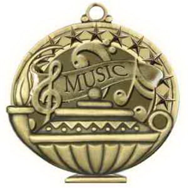 "2""Academic Performance Medal MUSIC in Gold"